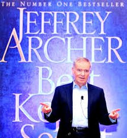 Post image for Of India, Cricket, Books and more – Lord Jeffrey Archer at Chennai