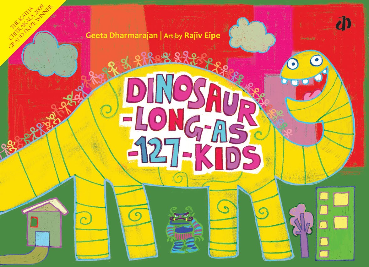 Dinosaur long as 127 kids