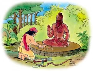 Eklavya's gurudakshina