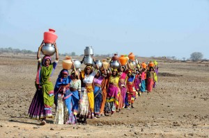 India is plagued by water scarcity