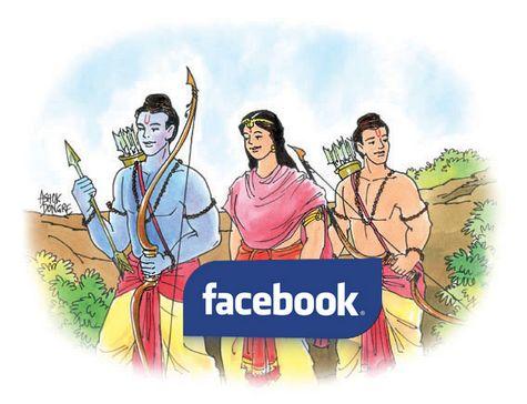 Facebook Ramayana!
