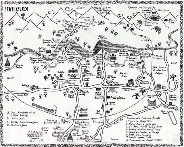 malgudi map