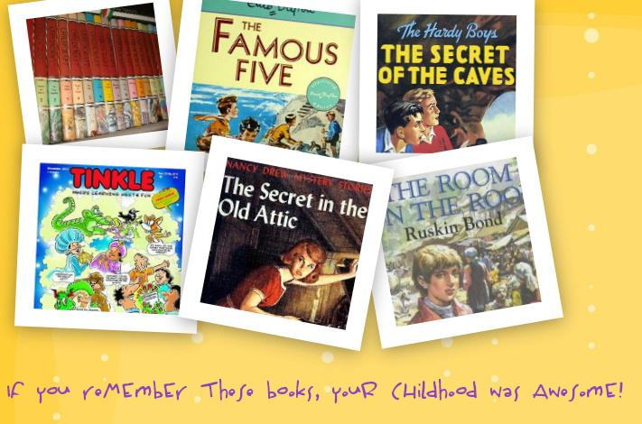 If you remember these books, your childhood was awesome