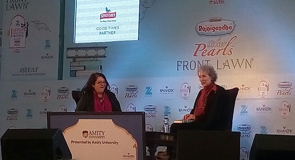 Margaret Atwood at JLF 2016