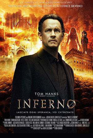 Tom Hanks in Inferno, saving the world - one symbol at a time!