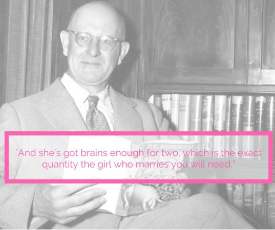 wodehouse on the kind of girl your friend needs
