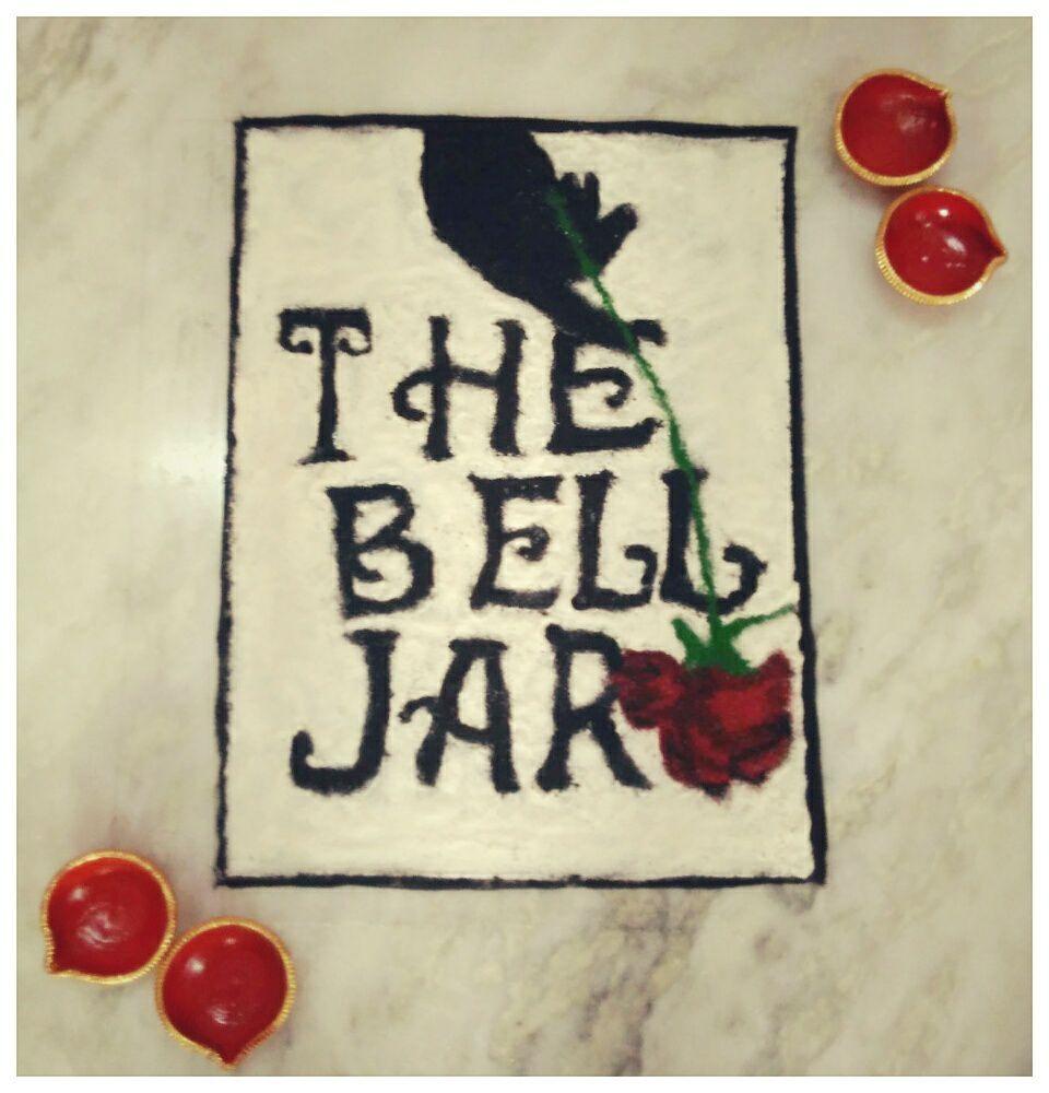 feminist book rangoli bell jar