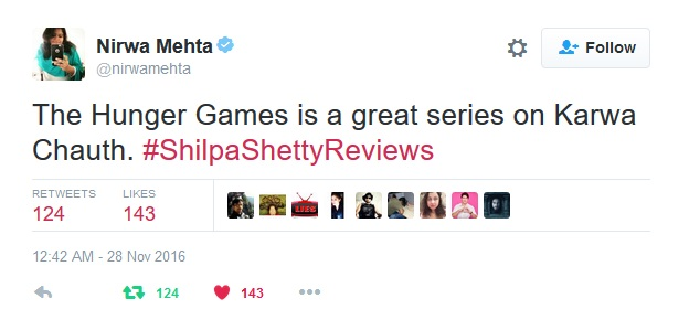 shilpa shetty reviews