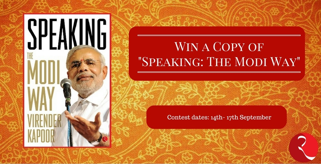 Giveaway - Speaking The Modi Way