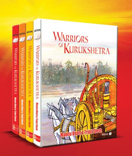 Warriors of Kurukshetra by Mamta Bhatt and Tripti Sheth